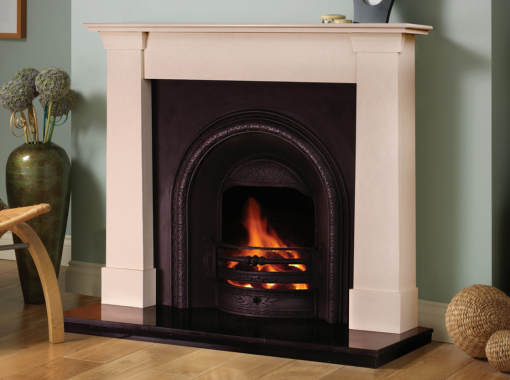 Oslo Cream Marfil Fireplace